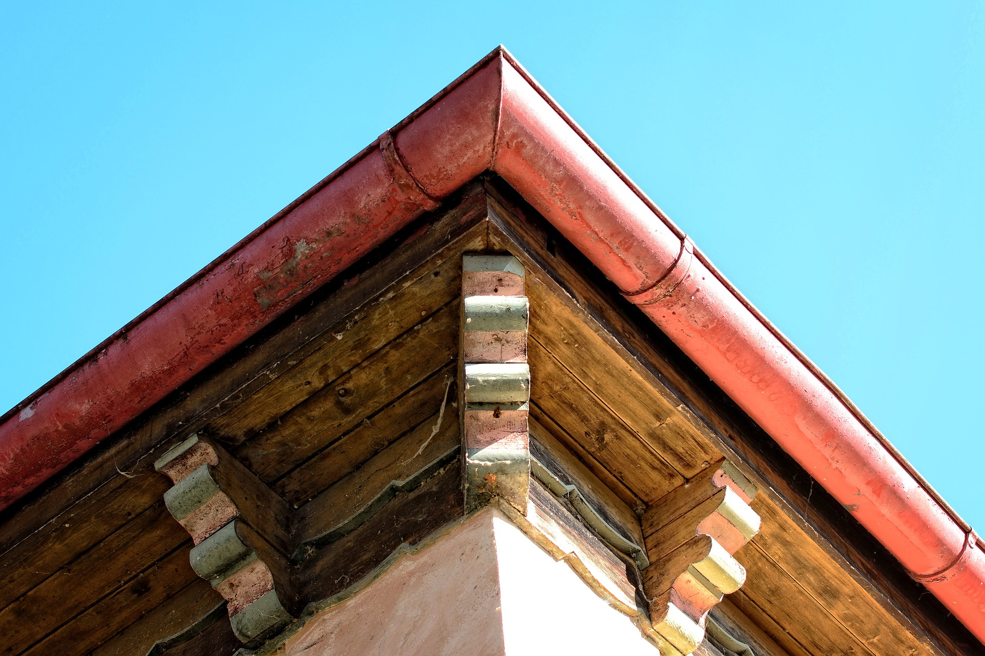 Gutter repair by roofing company in Austin